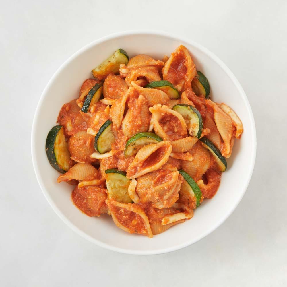 Cheesy Zucchini Pomodoro