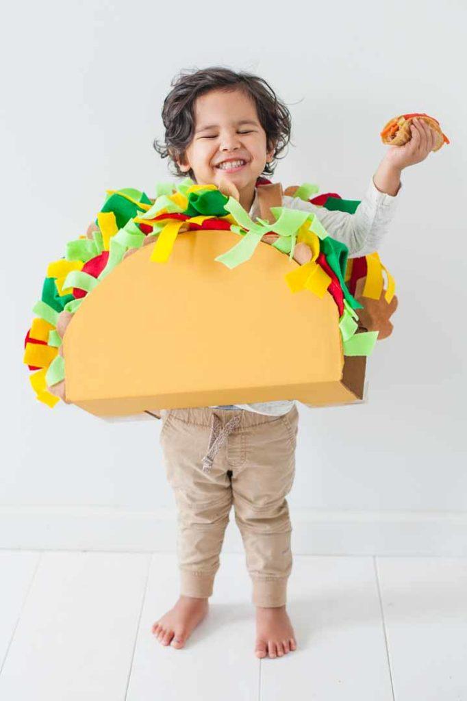 How To Make A Diy Taco Costume For Kids Nurture Life